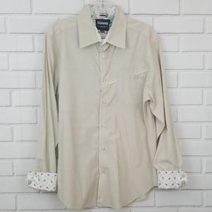 Billabong Contrast Cuffs Button Down Shirt